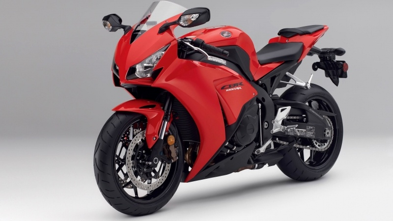 wallpaper moto Honda CBR1000 rouge