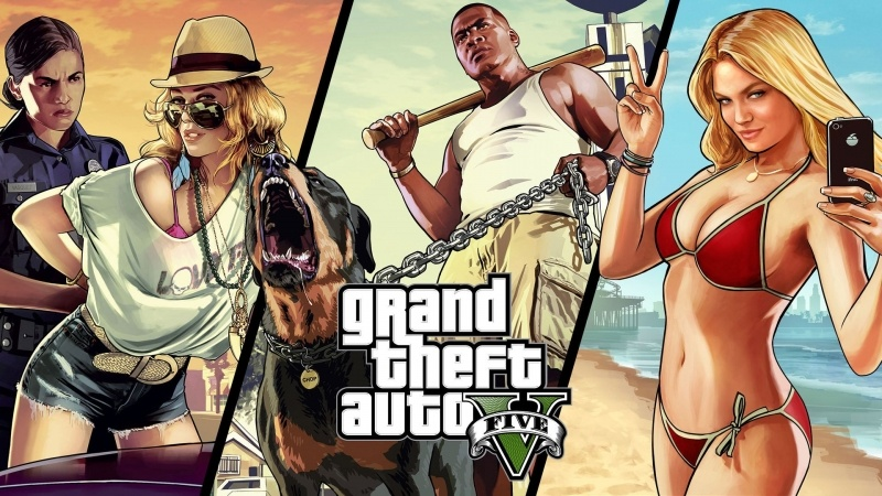 wallpaper Grand Theft Auto 5 Rockstar