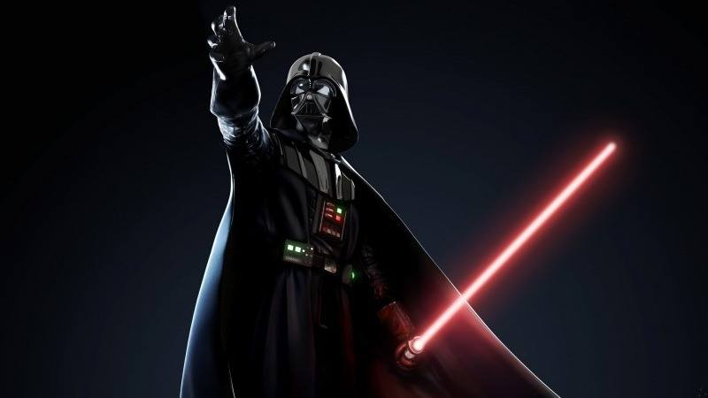 Darth Vader lightsabers red