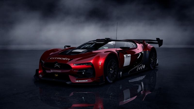 Citroen GT Racing concept photo