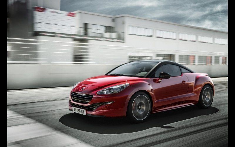 Peugeot RCZ rouge french