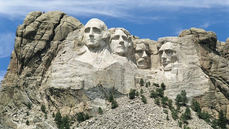 wallpaper Mont Rushmore president USA