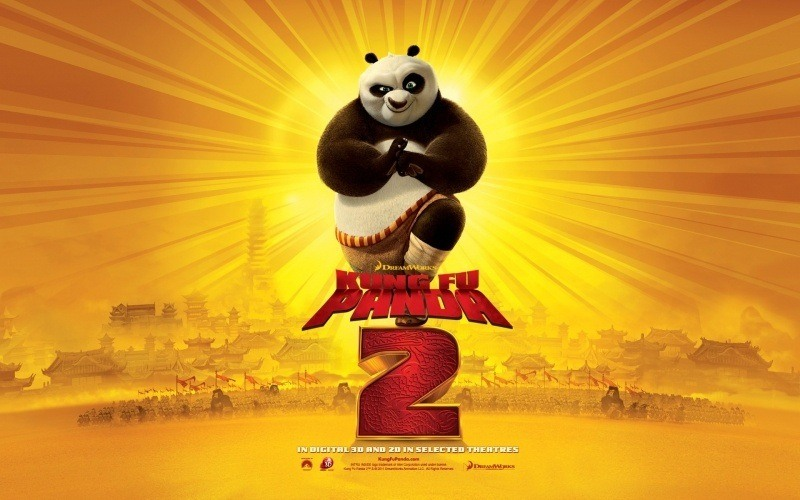 Kung Fu Panda 2 wallpapers HD Movie  anime fond d'écran gratuit 3 Po guerrier Dragon