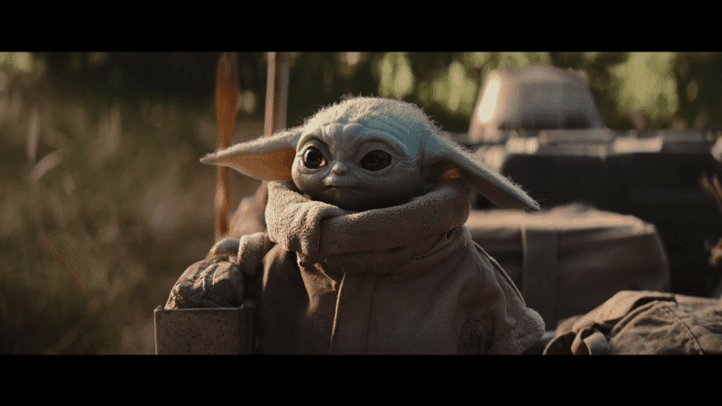 Fond écran HD série TV The Mandalorian personnage baby Yoda picture image wallpaper free download